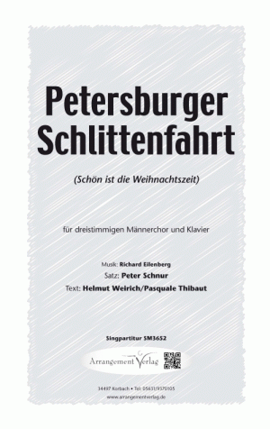 Chornoten Petersburger Schlittenfahrt