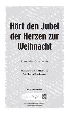 Chornoten: Hört den Jubel (dreistimmig)