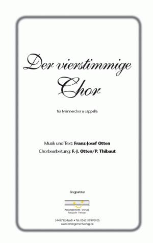 Chornoten Der vierstimmige Chor
