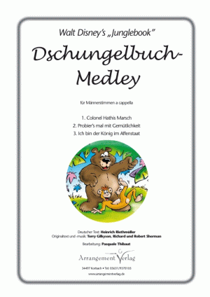 Chornoten: Dschungelbuch-Medley (vierstimmig)