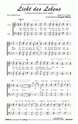 Chornoten: Licht des Lebens