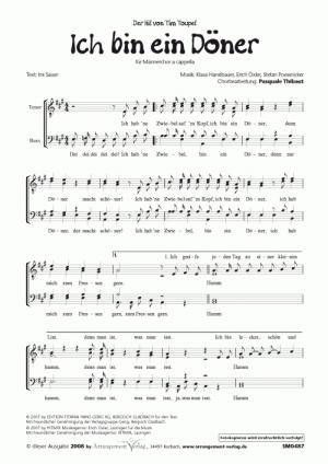 Chornoten Ich bin ein Döner