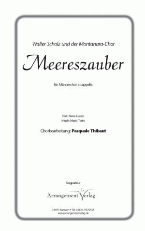 Chornoten: Meereszauber für Männerchor