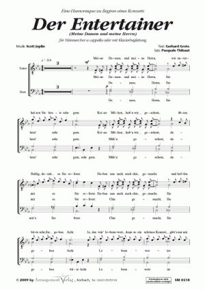Chornoten: Der Entertainer für Männerchor