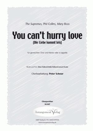 Chornoten: Die Liebe kommt leis für Männerchor