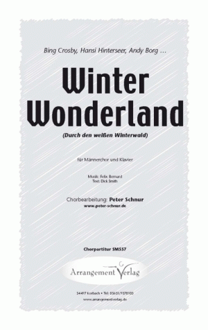 Winter Wonderland (vierstimmig)