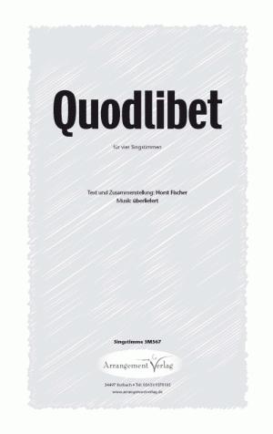 Chornoten: Quodlibet (vierstimmig)