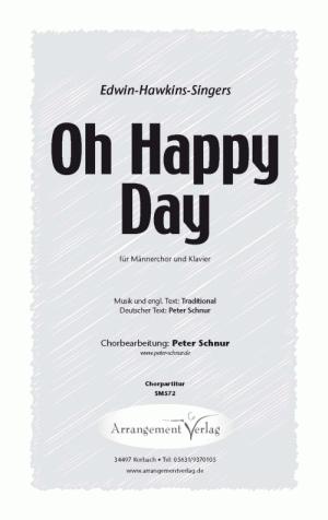 Chornoten: Oh Happy Day (Ein schöner Tag)