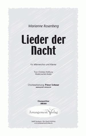 Chornoten: Lieder der Nacht (vierstimmig)