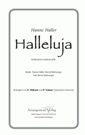 Halleluja (vierstimmig)