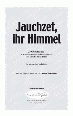 Jauchzet, ihr Himmel (vierstimmig)
