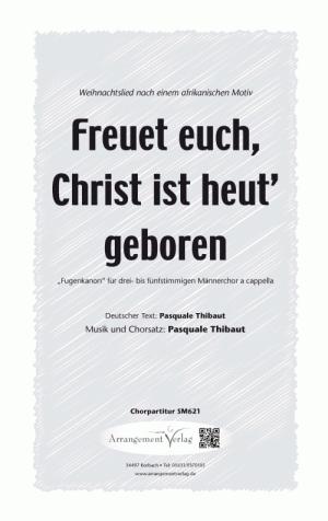 Freuet euch, Christ ist heut geboren (dreistimmig)