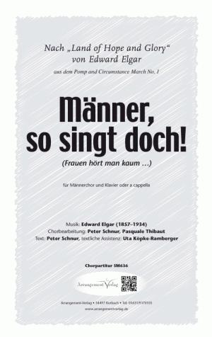 Chornoten: Männer, so singt doch! (vierstimmig)