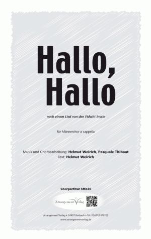 Hallo, Hallo (vierstimmig)