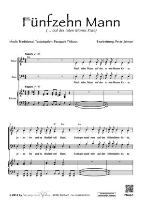 Chornoten: Fünfzehn Mann