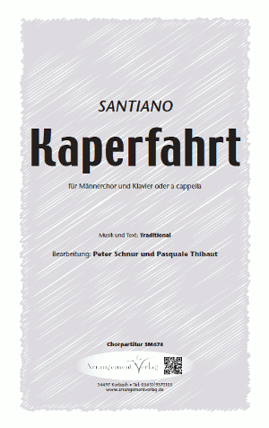 Chornoten: Kaperfahrt (vierstimmig)
