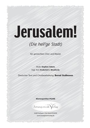 Jerusalem! (vierstimmig)