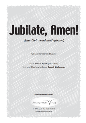 Chornoten: Jubilate, Amen!