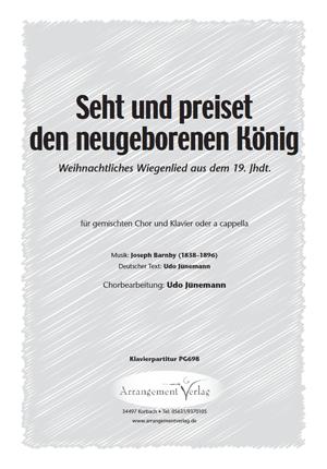 Seht und preiset den neugeborenen König (vierstimmig)