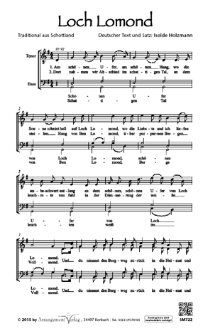 Chornoten: Loch Lomond