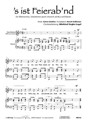 Chornoten: Feierabend