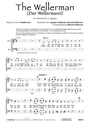 Chornoten: Der Wellermann (vierstimmig)