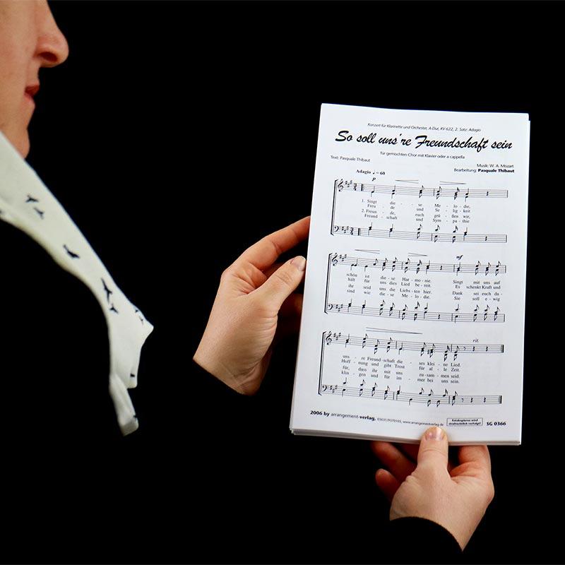 Chornoten: So soll unsre Freundschaft sein