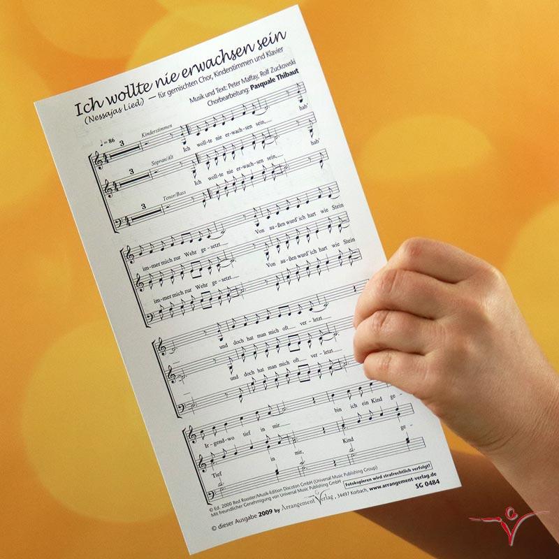 Chornoten: Ich wollte nie erwachsen sein