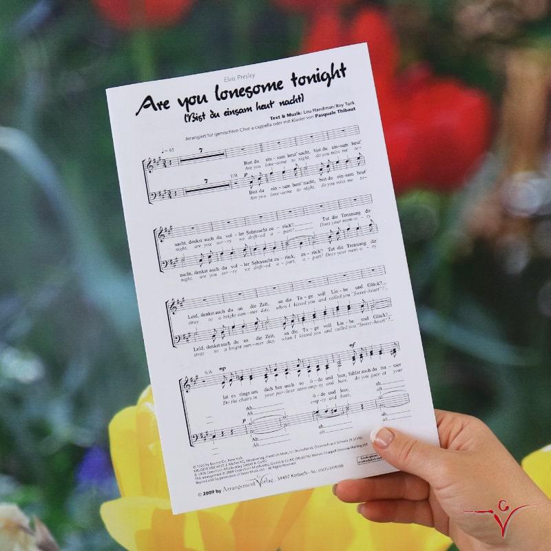 Chornoten: Bist du einsam heut nacht