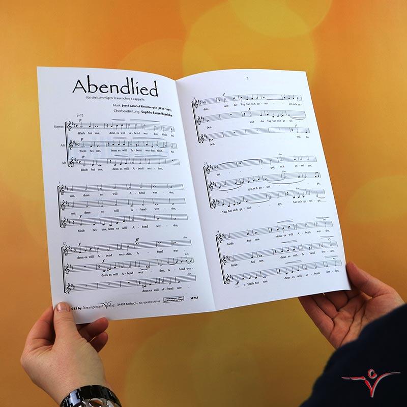 Chornoten: Abendlied