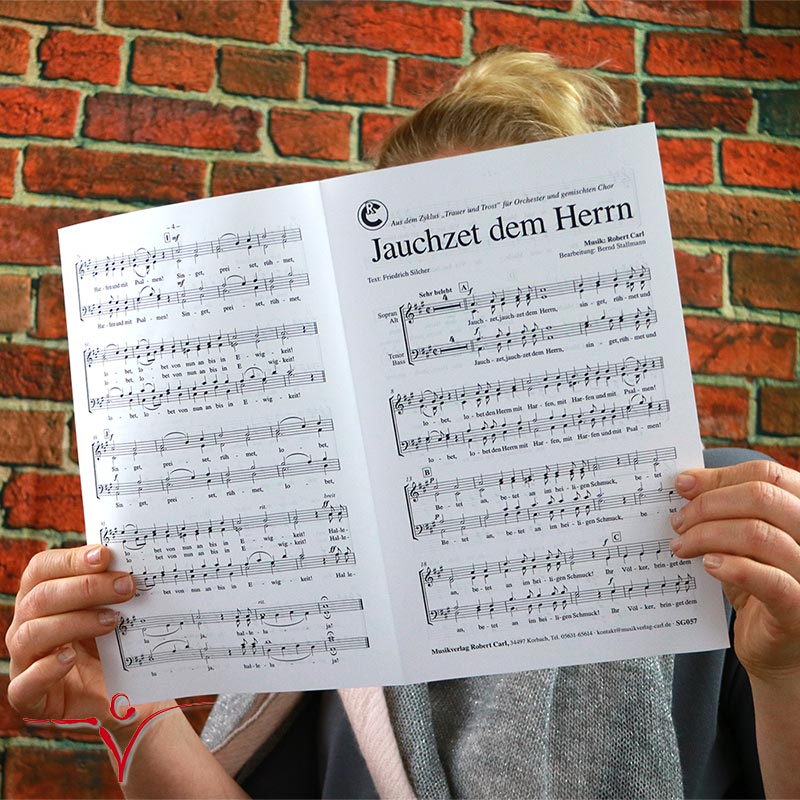 Chornoten: Jauchzet dem Herrn (vierstimmig)