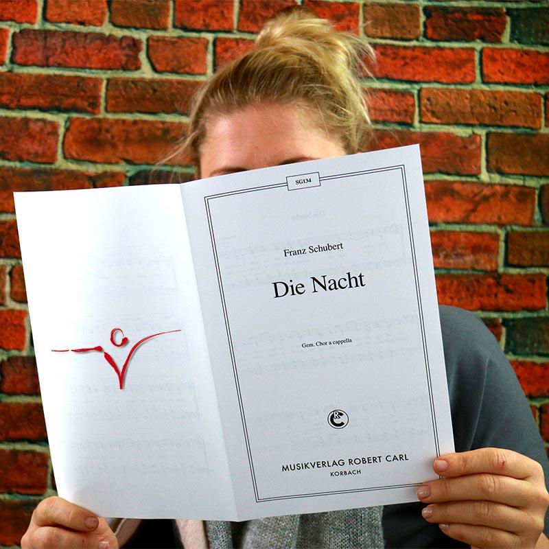 Chornoten: Die Nacht ( Wie schön bist du) (vierstimmig)
