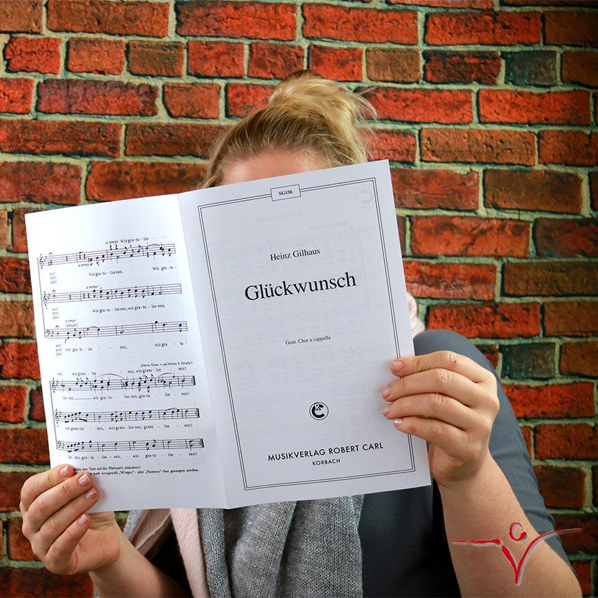 Chornoten: Glückwunsch (vierstimmig)