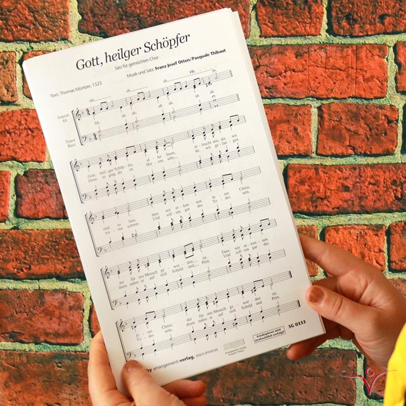 Chornoten: Gott, heiliger Schöpfer