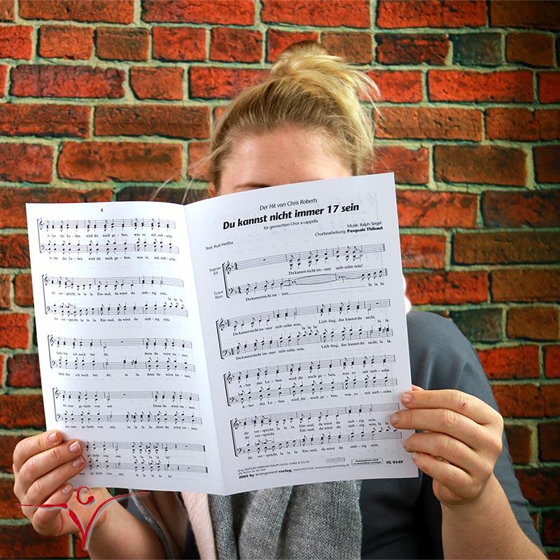 Chornoten: Du kannst nicht immer 17 sein (vierstimmig)