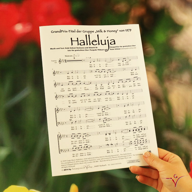 Chornoten: Halleluja (dreistimmig)