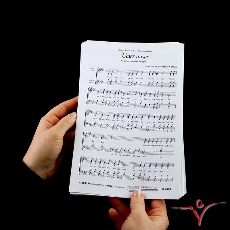 Chornoten: Vater unser