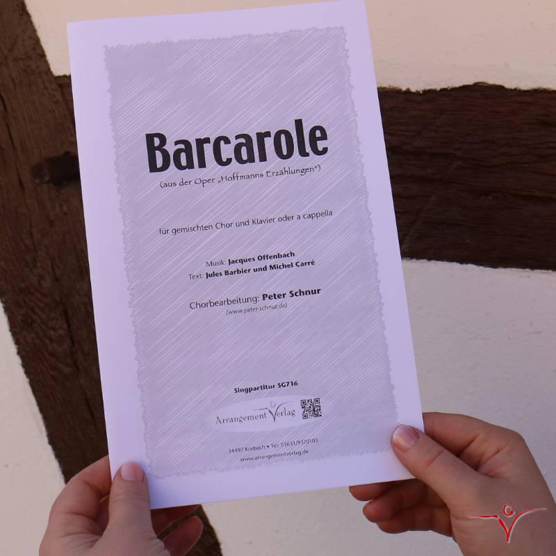 Chornoten: Barcarole (dreistimmig)