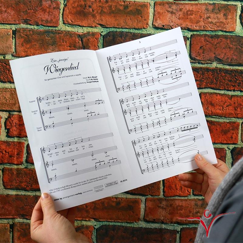 Chornoten: Ein jazziges Wiegenlied (vierstimmig)