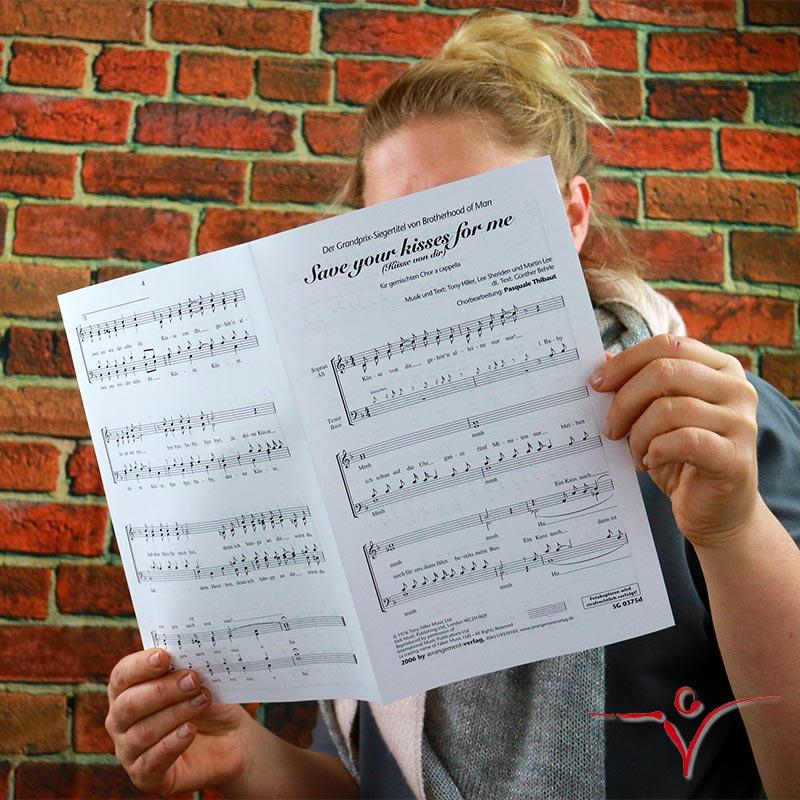 Chornoten: Die Küsse von dir