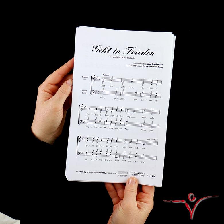 Chornoten: Geht in Frieden