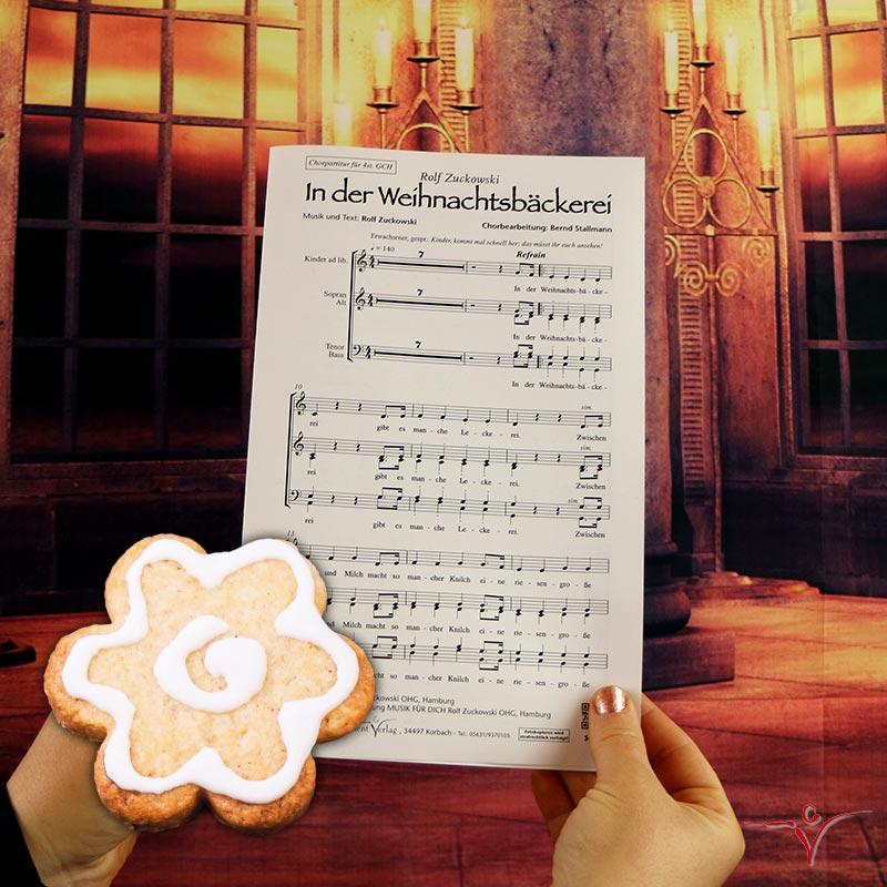 Chornoten: In der Weihnachtsbäckerei (dreistimmig)