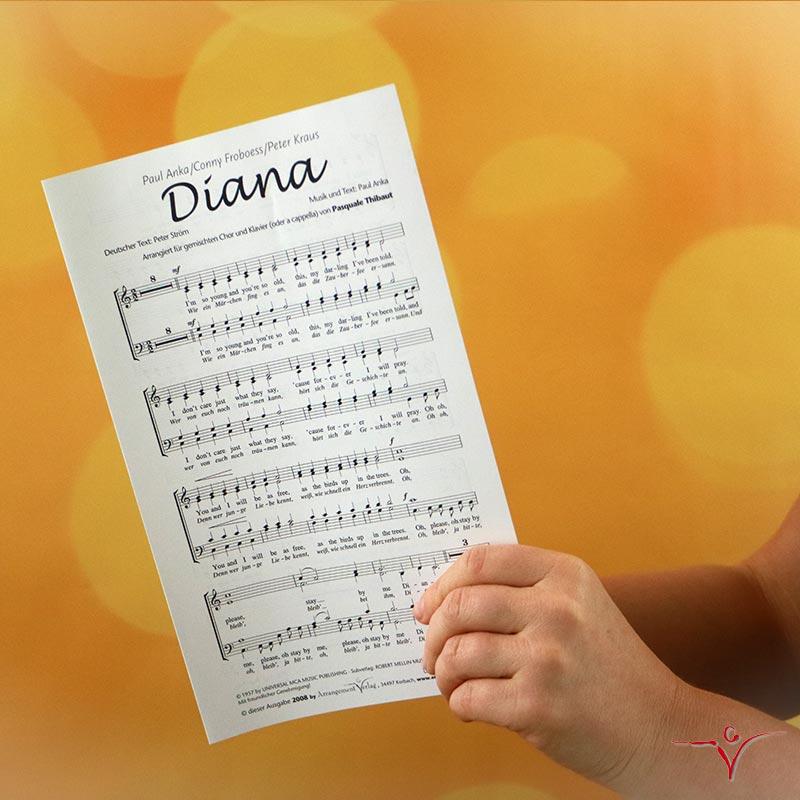 Chornoten: Diana (vierstimmig)
