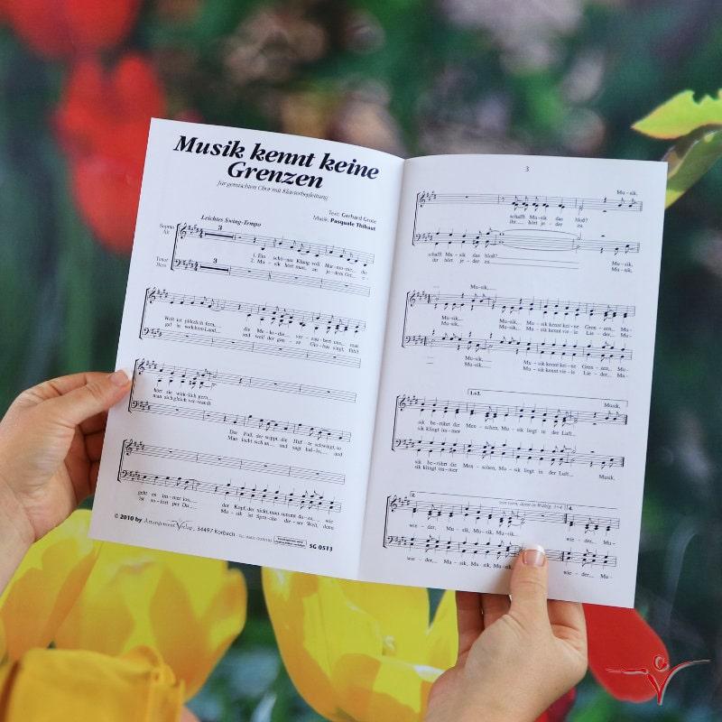 Chornoten: Musik kennt keine Grenzen (vierstimmig)