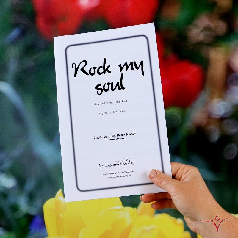 Chornoten: Rock my soul (vierstimmig)