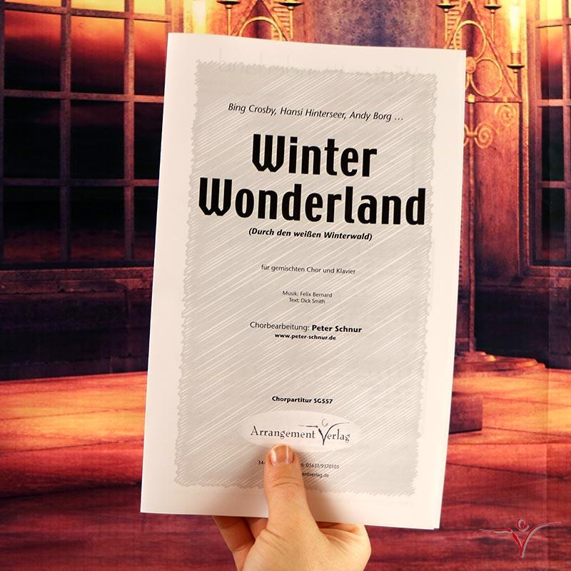 Chornoten: Winter Wonderland (vierstimmig)