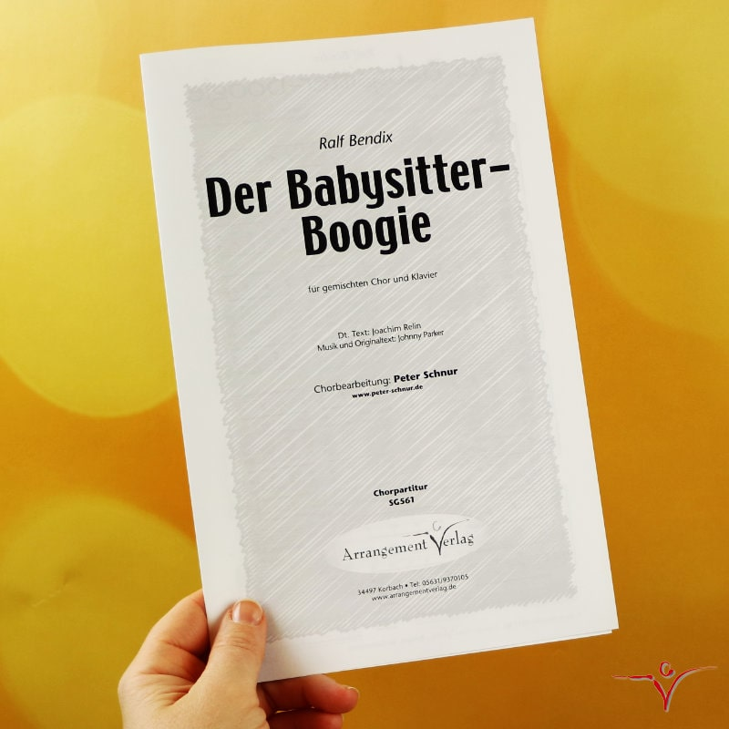 Chornoten: Der Babysitter-Boogie (vierstimmig)