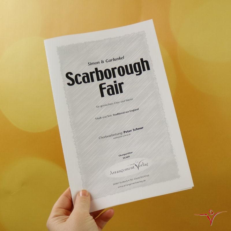 Chornoten: Scarborough Fair (vierstimmig)