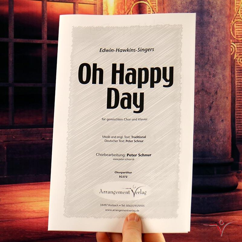 Chornoten: Oh Happy Day (vierstimmig)