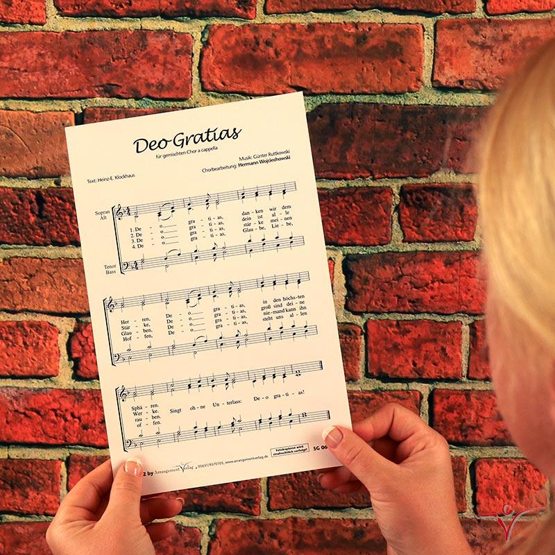 Chornoten: Deo Gratias